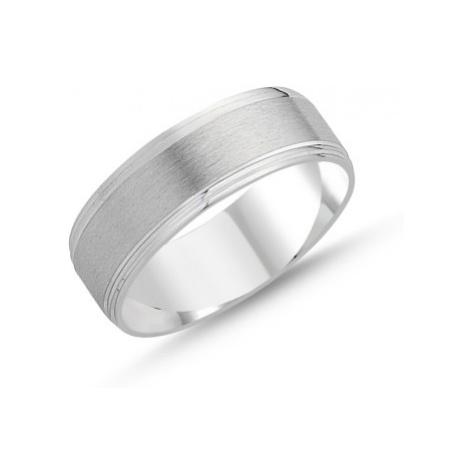 OLIVIE Stříbrný snubní prsten 2130