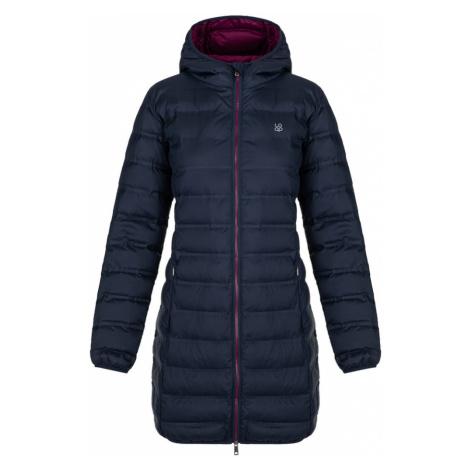 LOAP ITASIA Dámský zimní kabát CLW20122M37K Black Iris / Purple