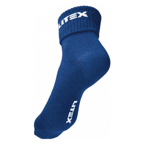 LITEX Ponožky. 99684514 tmavě modrá