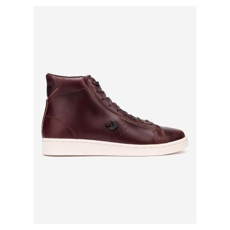 Pro Leather High Tenisky Converse Červená
