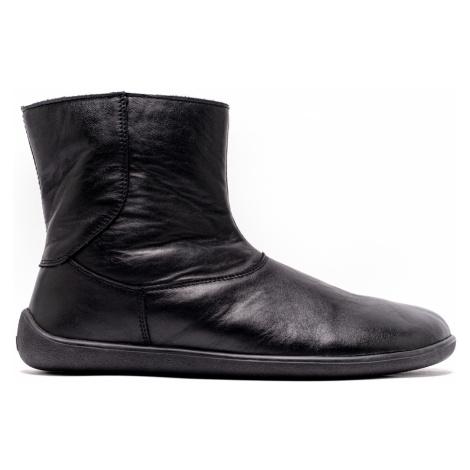 Barefoot kotníkové boty Be Lenka Polar – Black 43