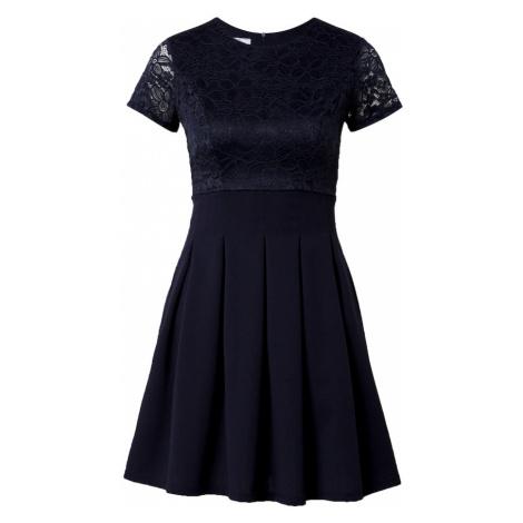 WAL G. Koktejlové šaty námořnická modř