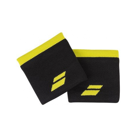 Babolat Wristband Logo bk.- yellow