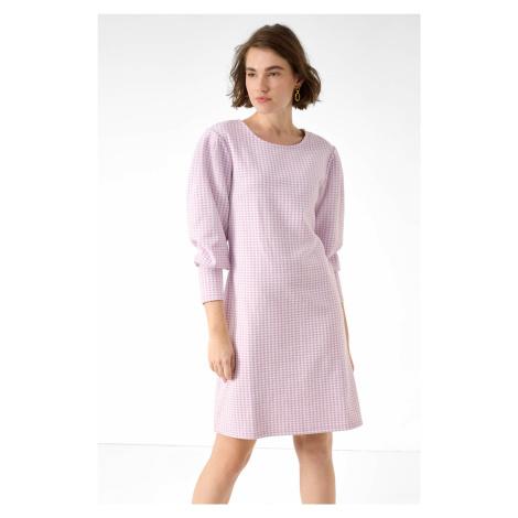 Vzorované šaty Orsay