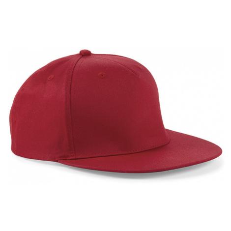 Snapback červený Beechfield