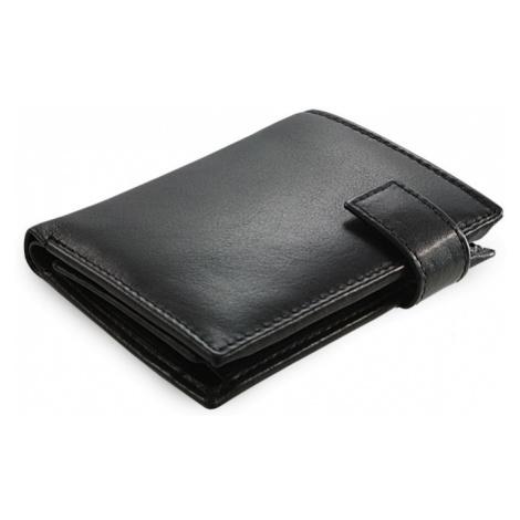 Černá dámská kožená peněženka se zápinkou Jessica Arwel
