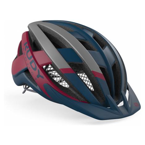 Cyklistická helma Rudy Project VENGER CROSS červená|modrá
