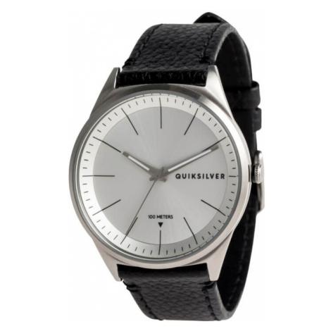 Quiksilver Bienville Leather Silver Silver Black SJA0