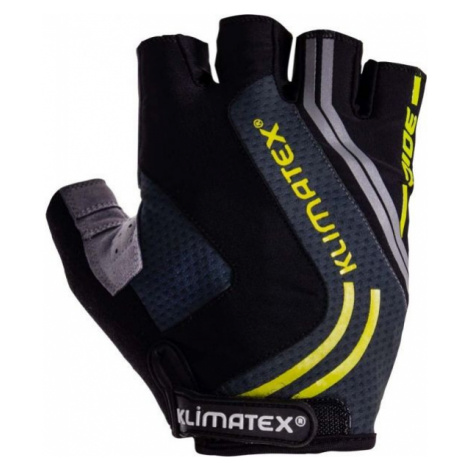 Klimatex RAMI černá - Pánské cyklistické rukavice