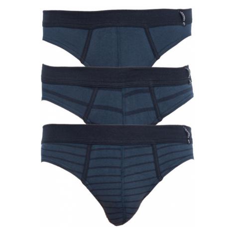 3PACK pánské slipy Jockey modré (17502483 499)