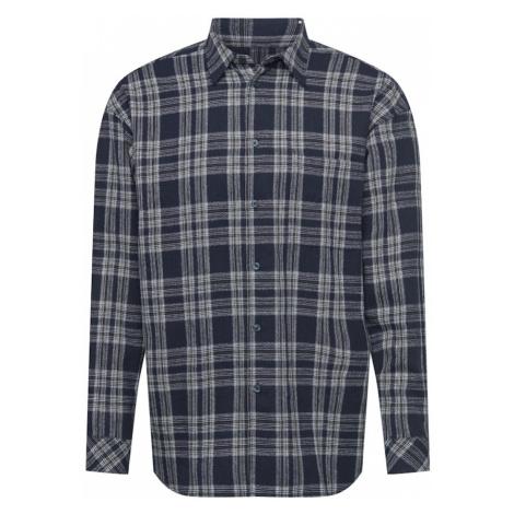 Samsoe Samsoe Košile 'Luan' námořnická modř / bílá