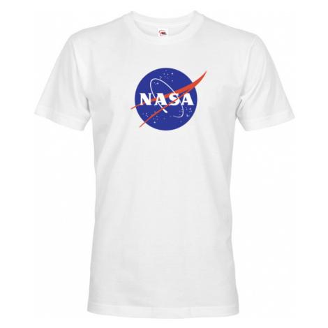 Pánské / chlapecké tričko s potiskem vesmírné agentury NASA BezvaTriko