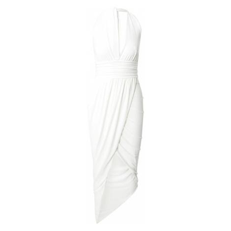 CLUB L LONDON Společenské šaty bílá