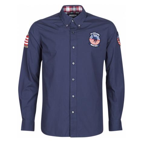 U.S Polo Assn. USA PATCH SHIRT BD Modrá U.S. Polo Assn