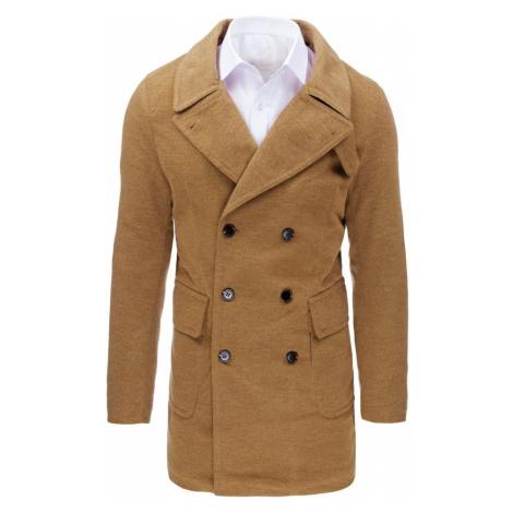 Buďchlap Kamelový pánský kabát
