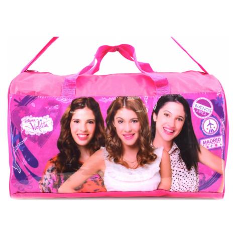 Cestovní taška Violetta - růžová Disney