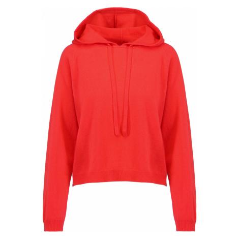Vlněný svetr ALLUDE červená
