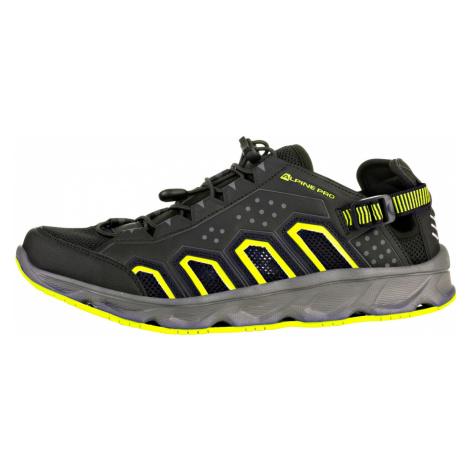 ALPINE PRO THEODE Unisex letní obuv UBTR208990 černá