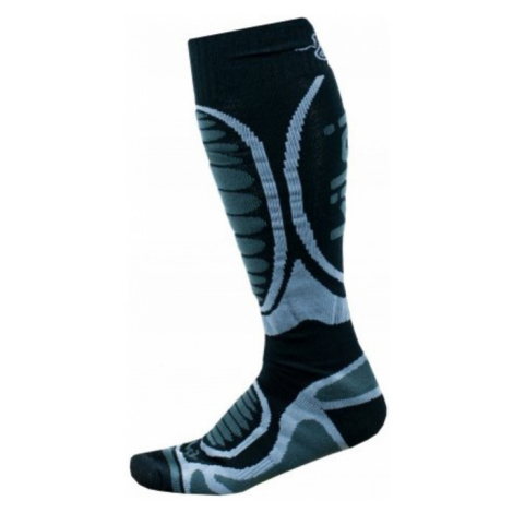 KILPI Unisex lyžařské ponožky - merino ANXO-U JU0126KIBLK Černá