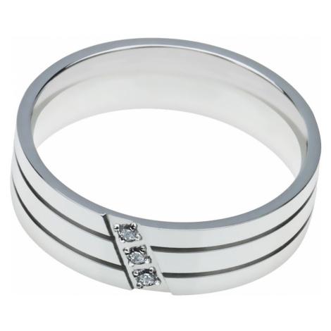Linda's Jewelry Prsten Simple Lines chirurgická ocel IPR034 Velikost: 56
