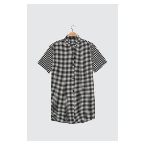 Trendyol Black Square Shirt Dress
