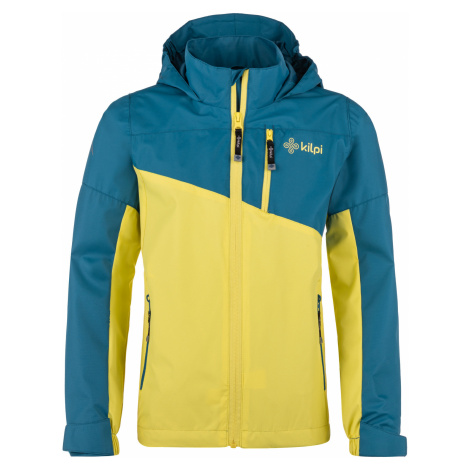 KILPI Chlapecká outdoorová bunda ORLETI-JB MJ0003KIDBL Tmavě modrá