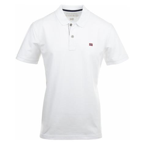 Napapijri pánské polo tričko bílé NA26