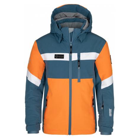 KILPI Chlapecká lyžařská bunda PONTE-JB NJ0001KIBLU Modrá