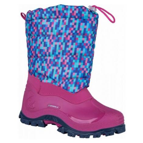 Spirale K6D COLORADO růžová - Dětská zimní obuv