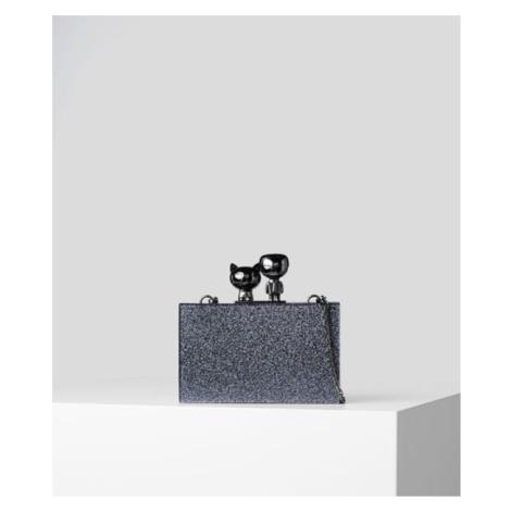 Kabelka Karl Lagerfeld K/Ikonik Metallic Minaudiere