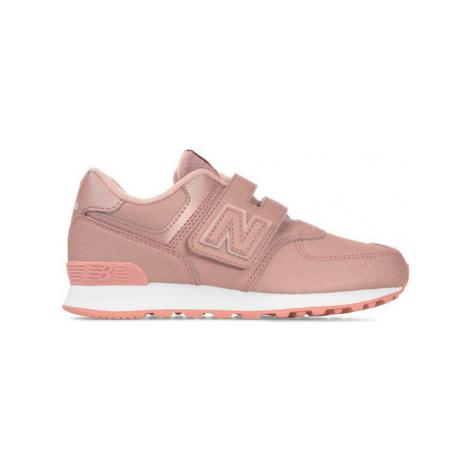 New Balance NBYV574KA Růžová
