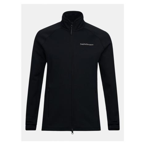 Mikina Peak Performance M Chill Zip Jacket - Černá