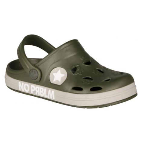 Coqui FROGGY zelená - Dětské sandály