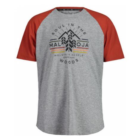 Pánské tričko Maloja BlaubeereM. firebug multi