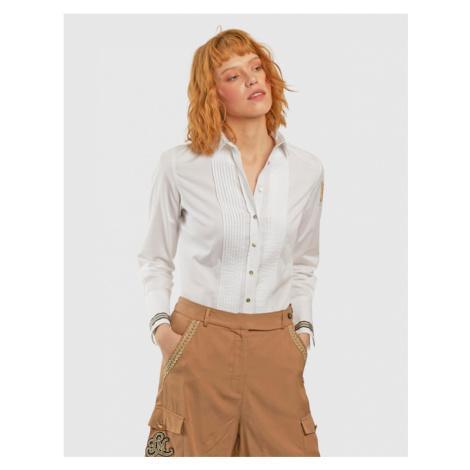 Košile La Martina Woman Shirt Cotton Poplin - Bílá