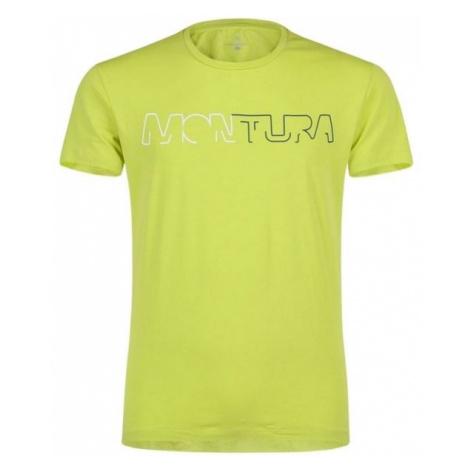 Montura tričko Brand, žlutá