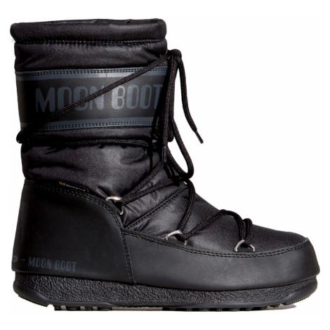 Boty Moon Boot MID NYLON WP černá