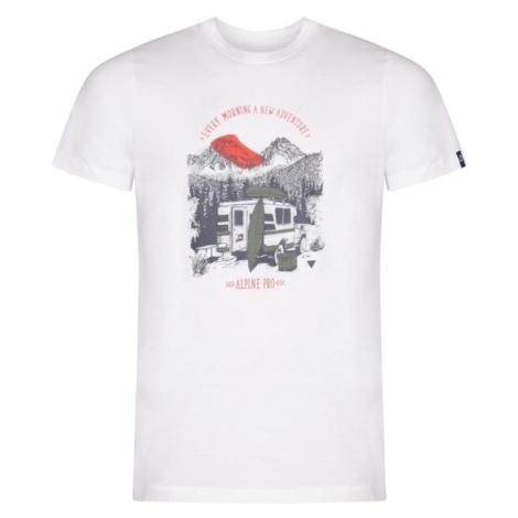 ALPINE PRO UNEG 8 Pánské triko MTSR458000PA bílá