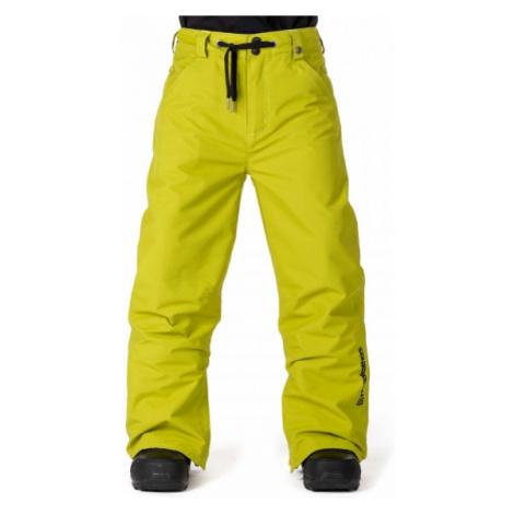 Horsefeathers CHEVIOT KIDS PANT žlutá - Chlapecké lyžařské/snowboardové kalhoty