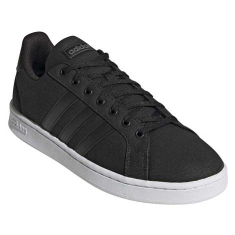 adidas GRAND COURT černá - Pánská volnočasová obuv