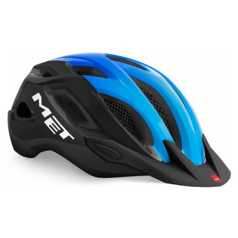 CROSSOVER Cyklistická helma 3HM109CE00BLU Met
