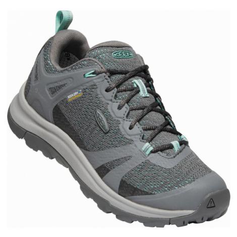 KEEN TERRADORA II WP W Dámská outdoorová obuv 10012264KEN01 steel grey/ocean wave