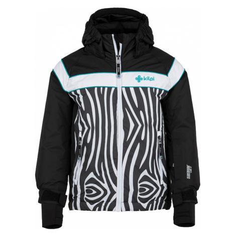 Dětská zimní bunda KILPI DELIS-JG černá