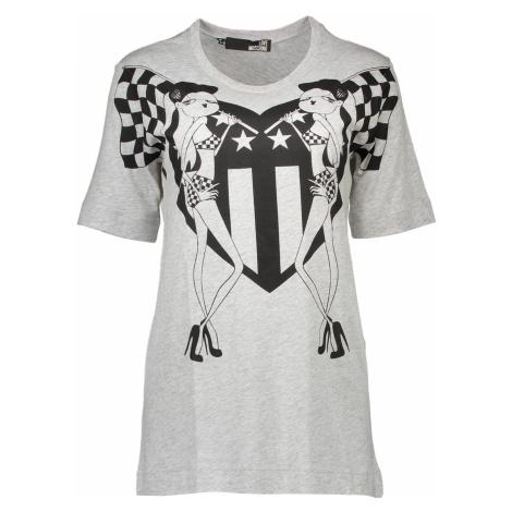 LOVE MOSCHINO tričko s krátkým rukávem