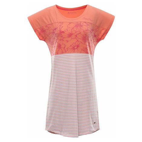 Dámské šaty Alpine Pro CLEYA - oranžová