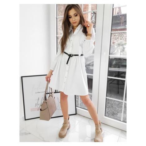 LAURA dress white EY1464 DStreet