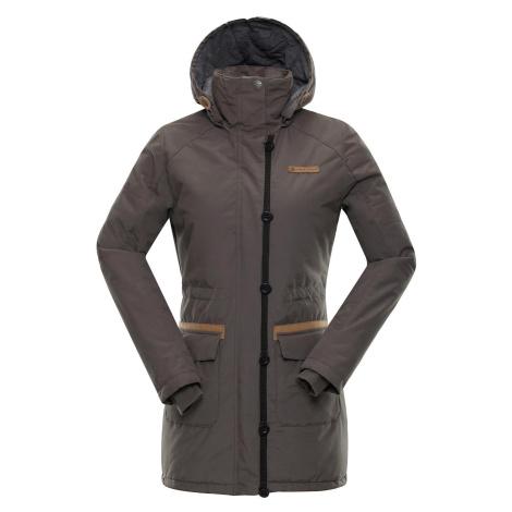 Dámský kabát Alpine Pro EDITE 4 - hnědá