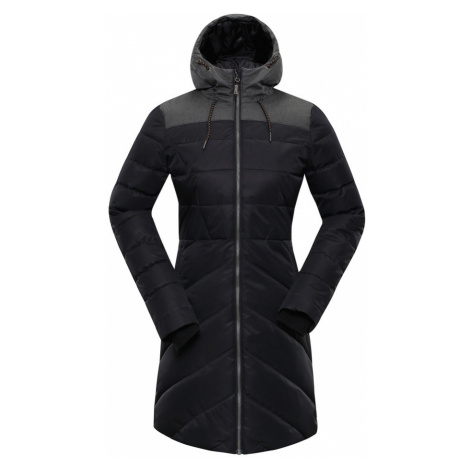 ALPINE PRO TESSA 3 Dámský zimní kabát LCTP098990 černá