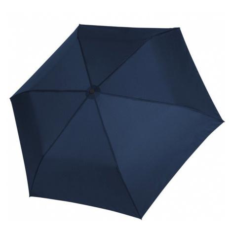 Modrý dámský i dětský skládací mechanický deštník Aline Doppler