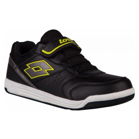 Lotto SET ACE XII CL SL černá - Dětská volnočasová obuv